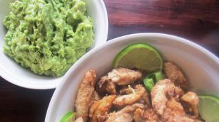 recette-poulet-frit-maison-guacamole