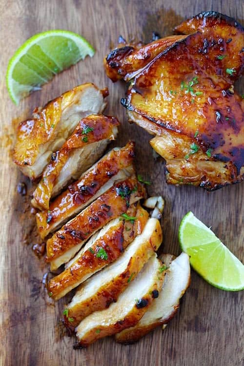 Facile et rapide la d licieuse recette du poulet au citron et au miel - Comment faire du poulet grille ...