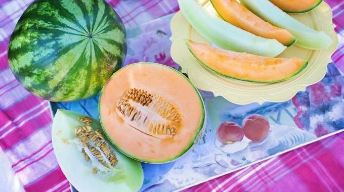la farandole de melons une entr e fra che pas ch re que mes invit s adorent. Black Bedroom Furniture Sets. Home Design Ideas