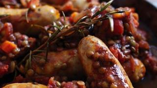 recette saucisses lentilles pas chere