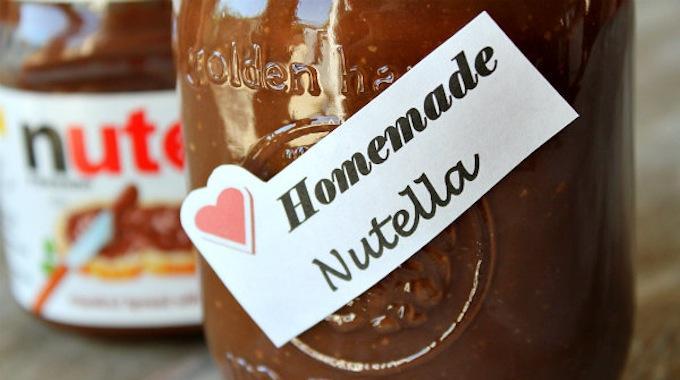 enfin la recette secr te du nutella faire maison. Black Bedroom Furniture Sets. Home Design Ideas