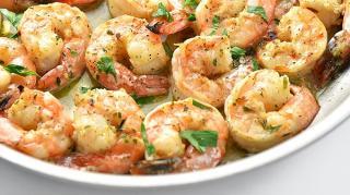 recette super facile crevettes ail
