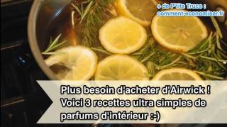 recettes faciles parfums intérieur