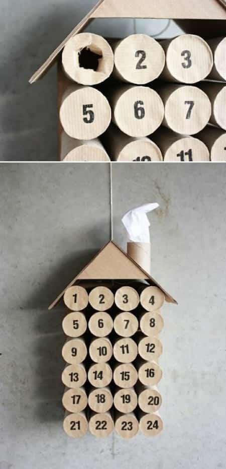 fabriquer calendrier avent maison soi-même