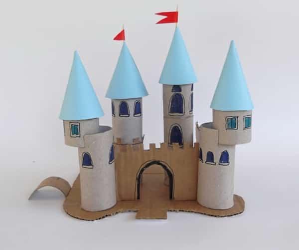 chateau fort papier wc rouleau