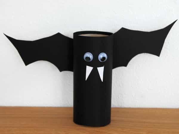vampire bricolage papier rouleau pq