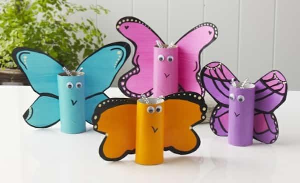 61 fa ons cr atives de r utiliser les rouleaux de papier - Bricolage rouleau papier toilette animaux ...