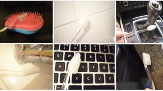 recycler vieille brosse dents ménage