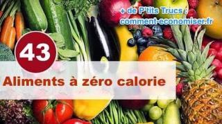 regime-aliments-zero-calories