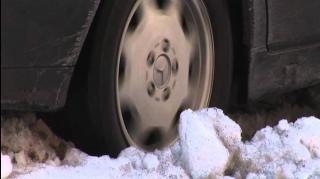 roue qui patine dans neige astuce