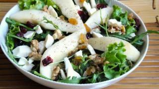 Salade cresson poires