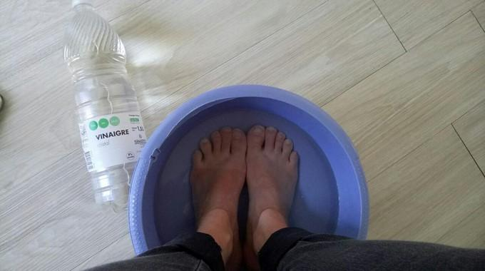mal au pied remede