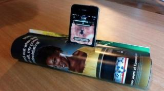 support smartphone amplificateur