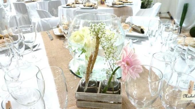 3 id es de d co pas ch res pour ma r ception de mariage - Decoration pour reception ...