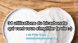 utilisations bicarbonate simplifier vie