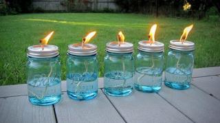 utilisations originales bocal en verre