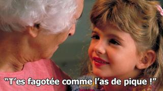 vieilles expression grand mere anciennes