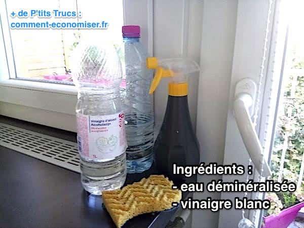 mes 4 meilleures recettes de produits à vitres garanties sans trace.
