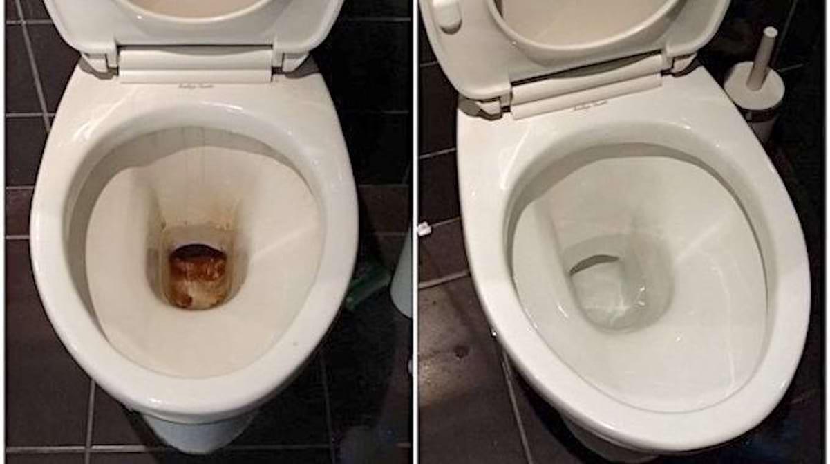 Changer Une Cuvette De Wc l'astuce super efficace pour décrasser la cuvette des wc
