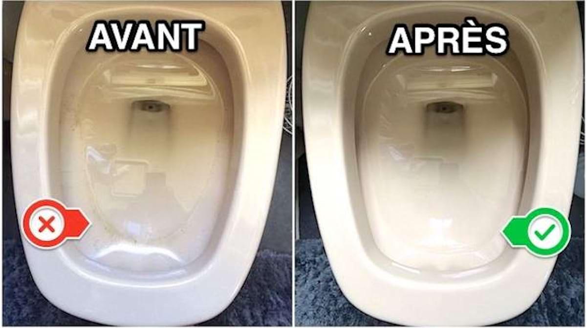Nettoyer Lunette Toilettes Vinaigre Blanc ultra efficace et prêt en 10 secondes : le nettoyant pour