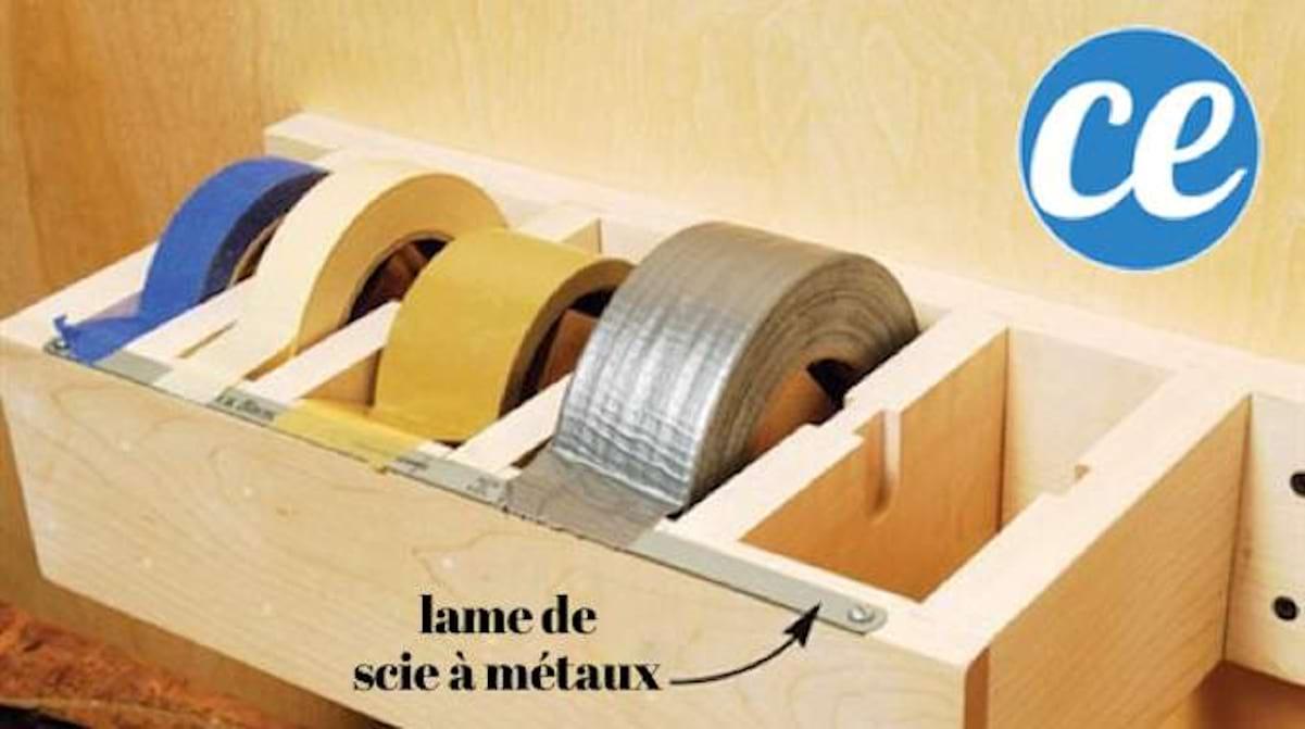 Fabriquer Un Porte Essuie Tout 28 super idées de rangement pour le garage. ne ratez pas la