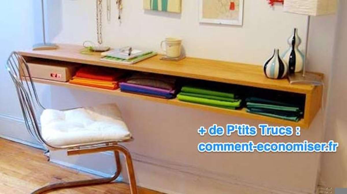 Plan De Travail Pour Faire Un Bureau comment faire un superbe bureau minimaliste en bois (facile