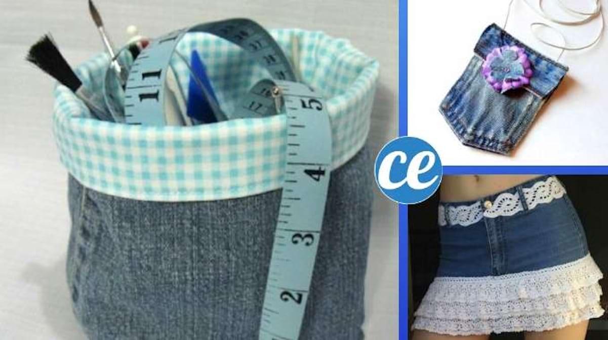Comment Faire Un Tableau Avec Du Tissu 54 façons incroyables de réutiliser ses vieux jeans.
