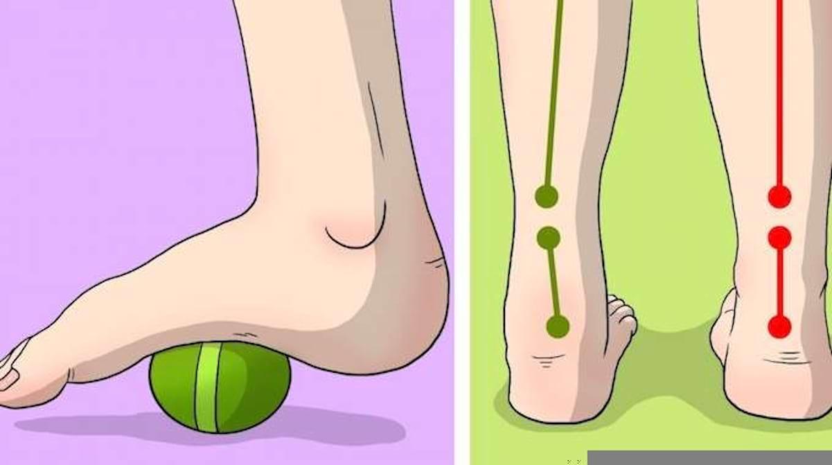 9 Exercices Simples Contre Les Douleurs Au Pied, Au Genou Et à La