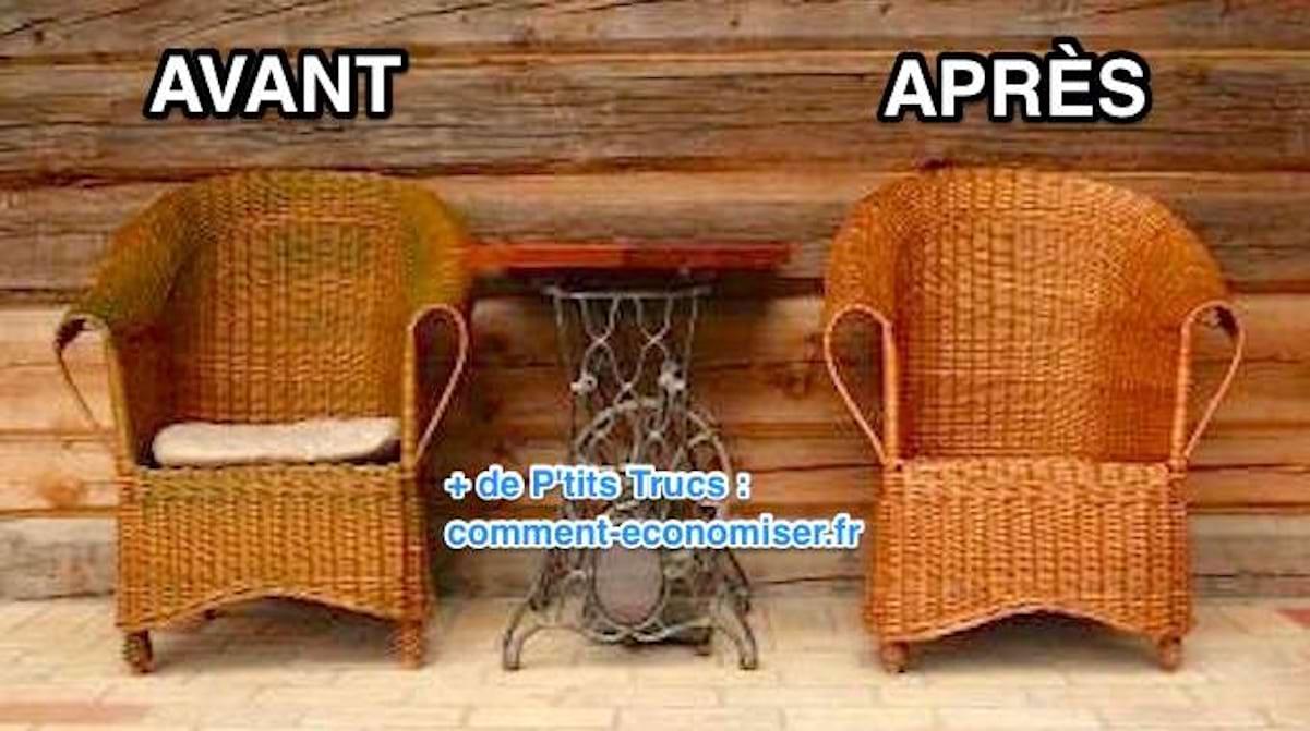 Comment Repeindre Des Fauteuils En Rotin comment nettoyer un fauteuil en rotin ? l'astuce facile et