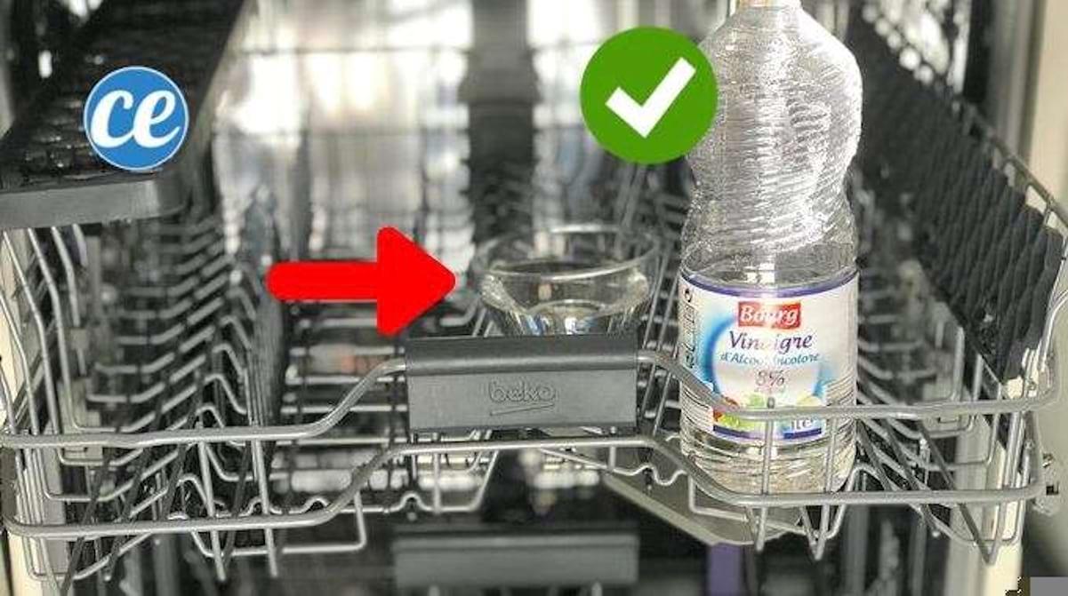 Nettoyer Lave Vaisselle Vinaigre comment détartrer votre lave-vaisselle facilement avec du
