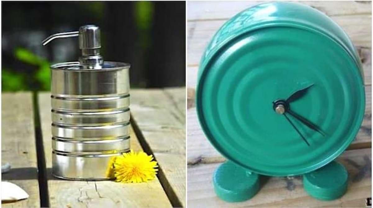 Comment Décorer Des Boites De Conserve 48 idées géniales pour réutiliser les boites de conserve vides.