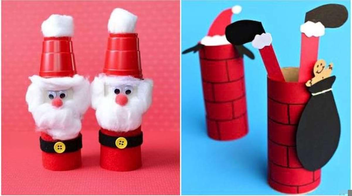 50 Super Décorations De Noël Avec des Rouleaux de Papier ...