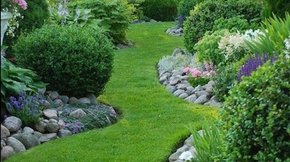 11 superbes bordures de jardin que vous aimeriez bien - Bordure de jardin en pierre pas cher ...