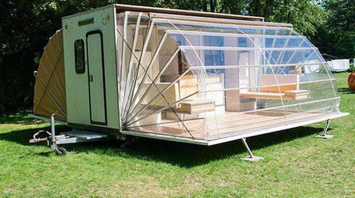 Une Caravane De Luxe Qui Va Vous Faire Changer D Avis Sur Le Camping