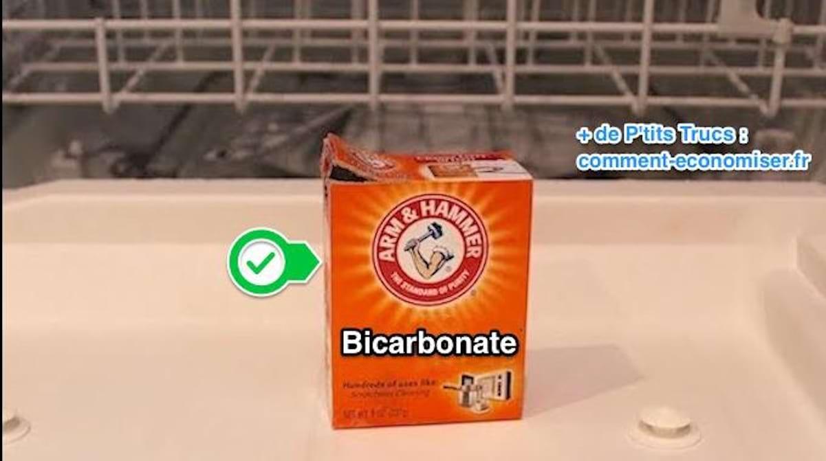 Nettoyer Le Lave Linge Au Bicarbonate pour dégraisser le lave-vaisselle plus besoin de nettoyant