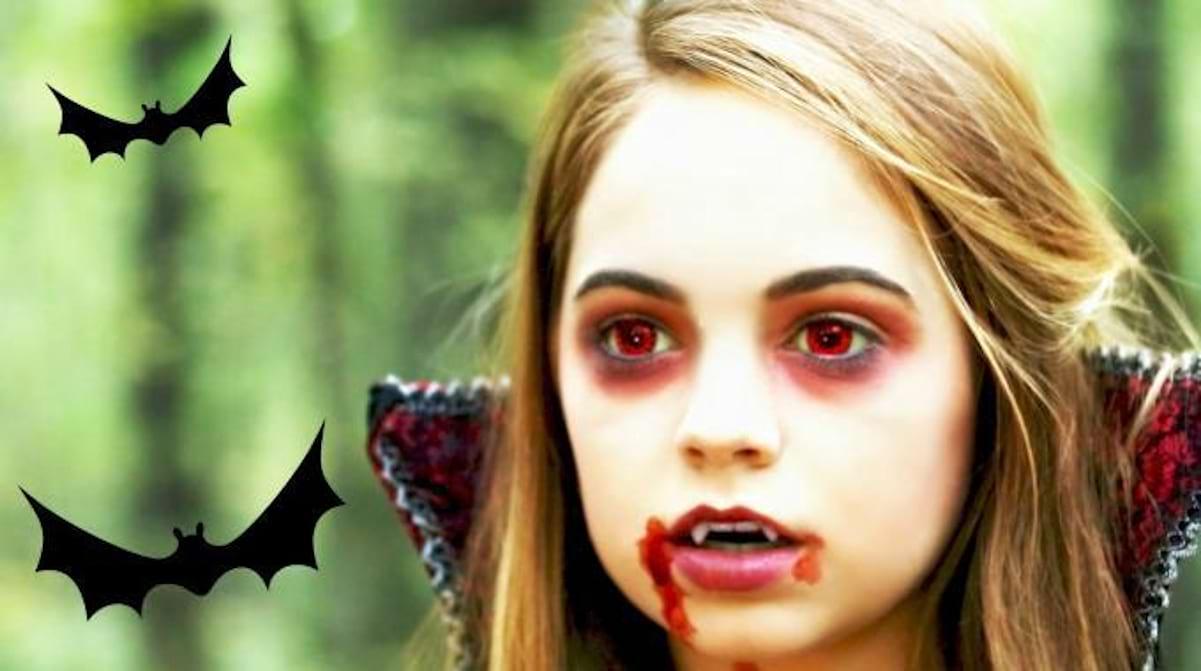 Un Maquillage Pour Halloween Facile A Faire Avec Mes Petits Trucs