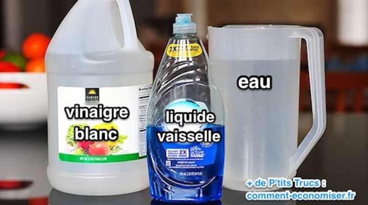Nettoyer Lave Vaisselle Vinaigre certainement le meilleur nettoyant à vitres que j'ai jamais